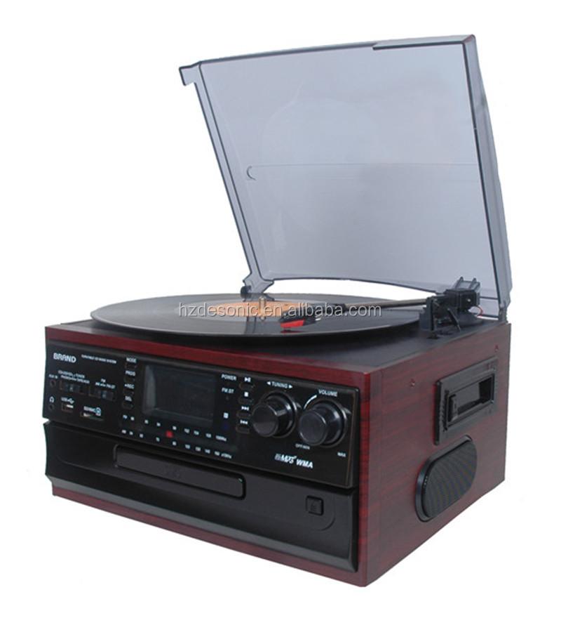 Old Cd Turntabl Vinyl Record Pressing Phonograph Turntable