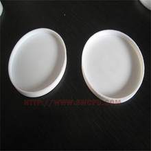 Good quality semi-transparent plastic cover for tube