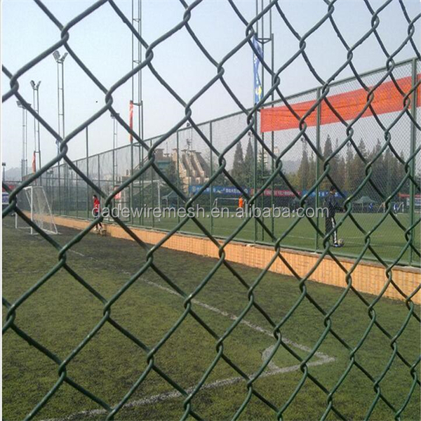 2016 Trade Assurance stainless steel chain link fence/chain link fence pricesused in Garden,Farm,Prison ,Perimeter,Boundary