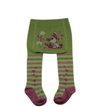 GST-08 Wholesale cute big pp cartoon design cotton baby fashion pantyhose