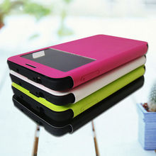 window flip leather case for samsung galaxy note 3