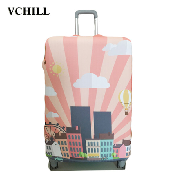 popular trolley spandex suitcase cover