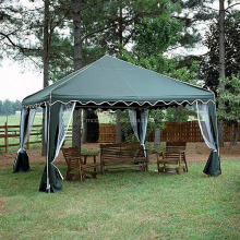 Cheap custom easy up waterproof used gazebo for sale with mosquito net