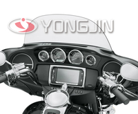 High quality ABS motorcycle fairing chrome trim kit for MOTOR harley