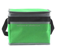 Peva 6 Can Insulated Lightweight Frozn Lunch Cooler Tote Diabetes Bag