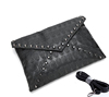 2017 new designer ladies envelope bag with skull ,clutch purse/wallet with chain made in china