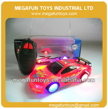 Two-pass rc car with light