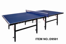 Single Folding 16mm Table Tennis Table Wholesales,2015 Hot Selling Movable Ping-Pong Table,OEM Foldable Tennis Table Legs