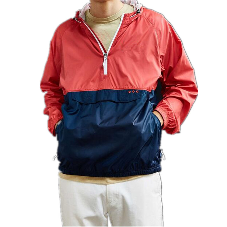 Mens rain jacket wholesale wind breaker,nylon windbreaker soft nylon windproof jacket