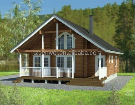 Russian timber holiday house from direct manufacture