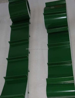PVC conveyor belt--- cleat black pvc conveyor belt