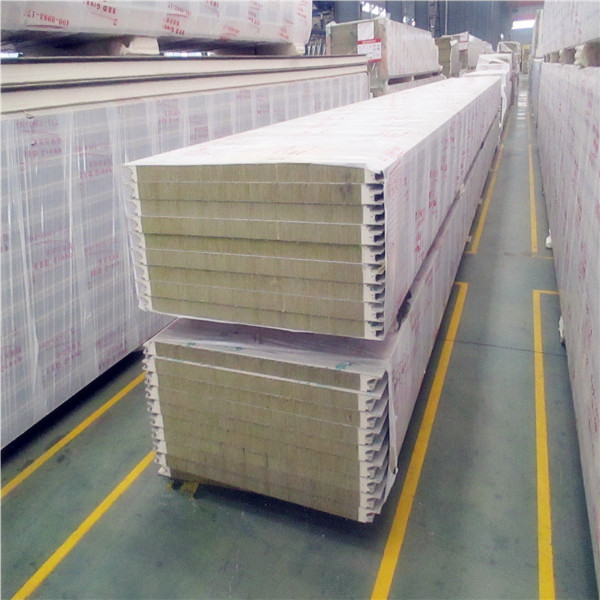 Hot seller 100mm eco friendly fire rated cheap sandwich panel price m2 interior wall