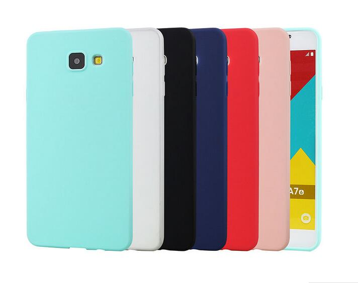 Cheap Price Candy TPU Gel Rubber Silicone Back Case Cell Phone Protective Cover for Samsung galaxy A710