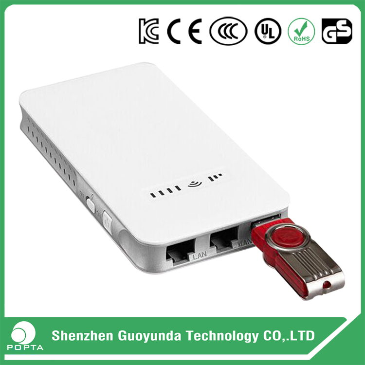 Factory supplied super wifi router, mobile power supply, round power bank