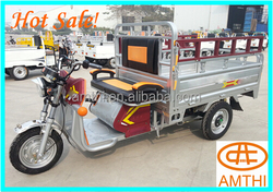 Adult Electric tricycle used with passenger seat, China Electric tricycle for Cargo, amthi