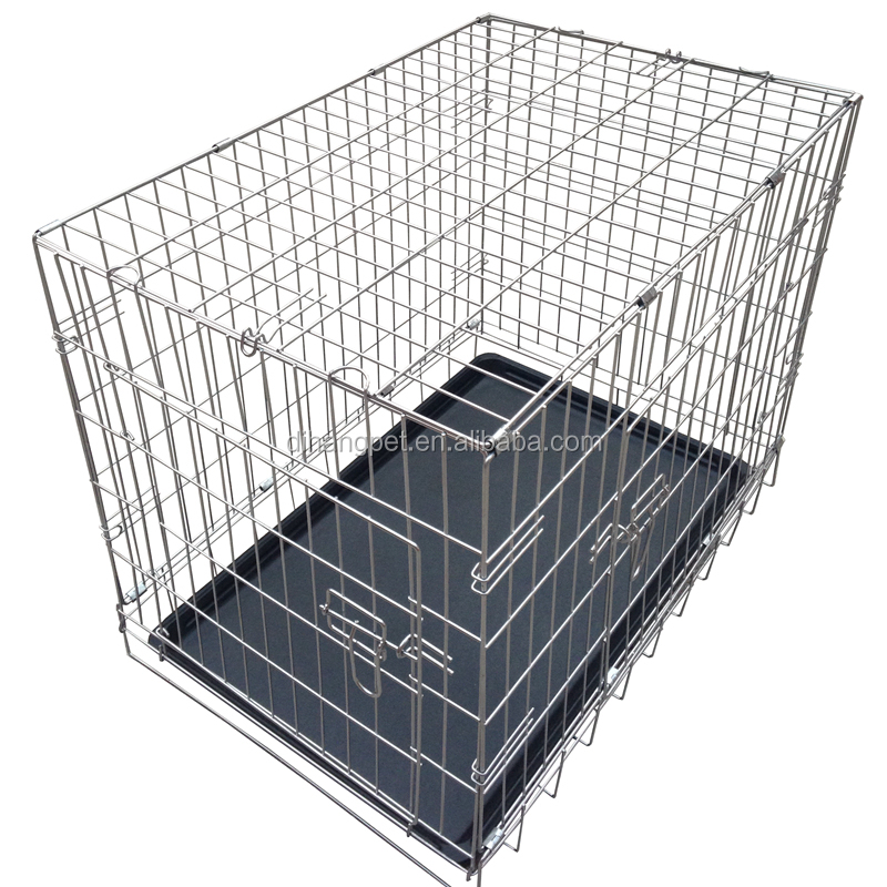 Purple PVC Dog Cage /Strong Stainless Steel Dog Cage/Galvanized Steel Dog Cage