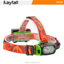 New developed USB multifuctional led rechargeable waterproof headlamp