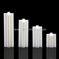 Plastic Miniature Model High Rise Building