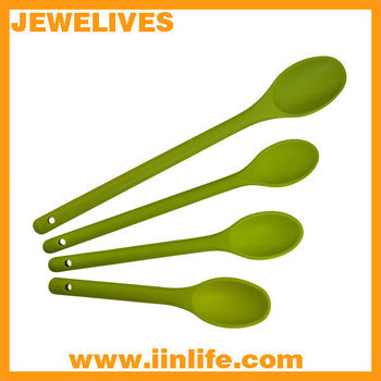 Cute Silicone Spoon Set