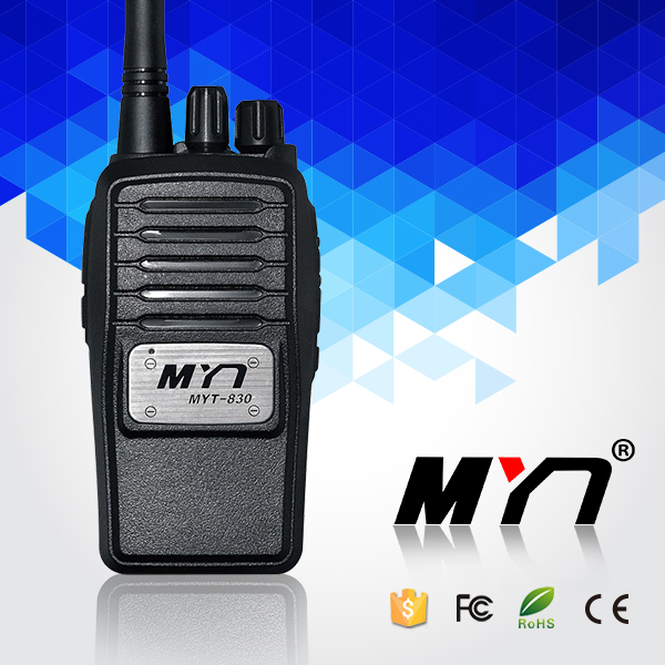 MYT-830 Mini Pocket Digital Am Fm Radio Dmr Uhf Vhf Dual Band Mobile Radio