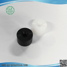engineering plastic cnc machining manufacturers black polyamide nylon plastic sleeve