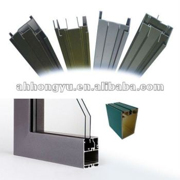 door window aluminium frame