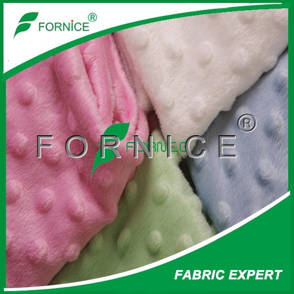 China manufacturer 100% polyester Ultra soft minky cuddle fabric