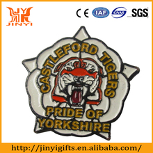 Zinc alloy plated tigers challenge award medals