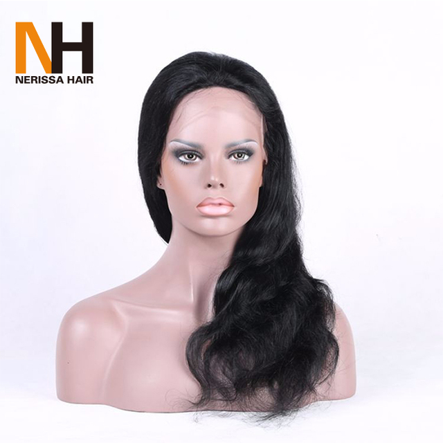 Hot sale Wet And Wavy Full Lace 100% russian virgin hair wigs