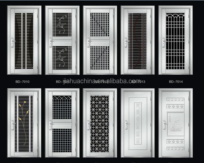 Plain Steel Exterior Door Masonite Flush Insulating Core Steel