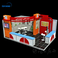 Custom fabric modular display exhibition stands