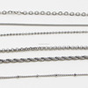 Stainless Steel Chain Jewelry For Making Necklace Accessory Meter Chain Wholesale