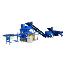 Hydraulic Pressure High Quality Soil Clay Mud Interlocking Brick Making Machine Price