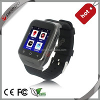 wholesale bluetooth GPS Smart watch 3G android 4.4 cell phone watch with wifi and GPS