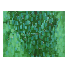 Wholesale green decorative abstract canvas art