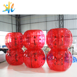 Hot sale 1.5m 1.8m PVC/TPU adult Inflatable air human body bumper bubble ball soccer