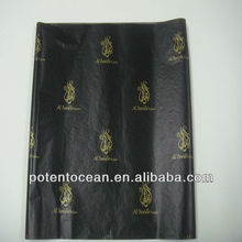 printed logo wrapping tissue paper