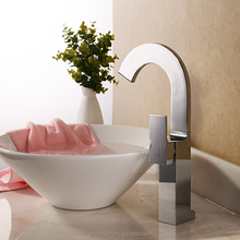 high quality single level brass bathroom sink faucet mixer tap