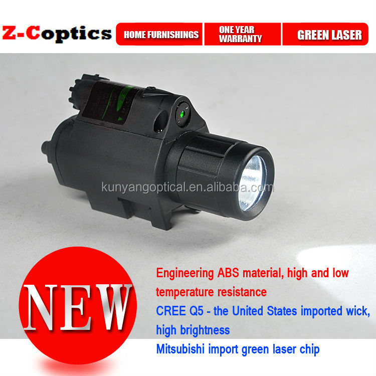 Tactical Green Laser Sight Scope For Rifle Pistol Airgun Weaver Rail