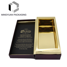 Wholesale Custom Hight End Whisky Wine Glass Gift Box Carton With Lid And Base