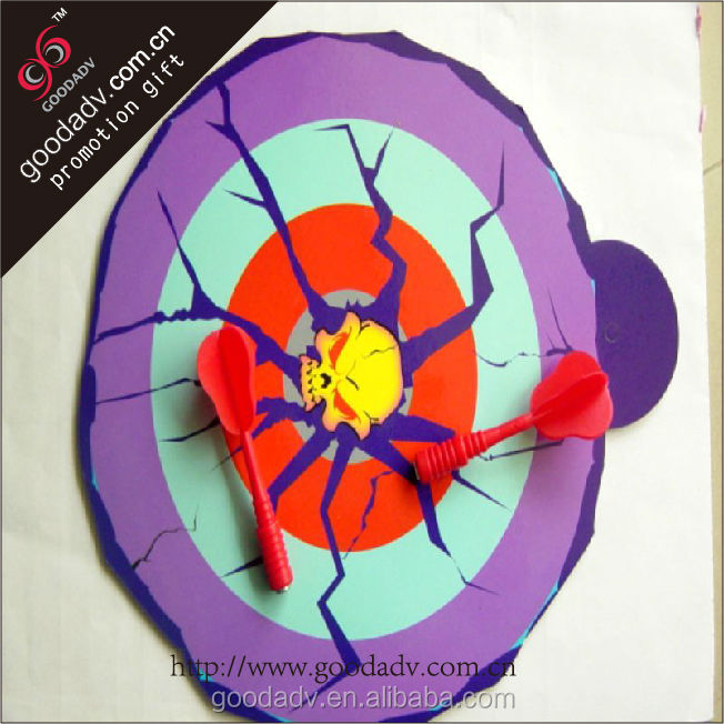 Safe personality eyeball shape magnetic dart board stands