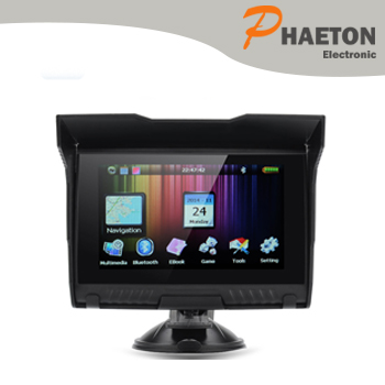 5inch waterproof portable gps automotive products car gps w-50