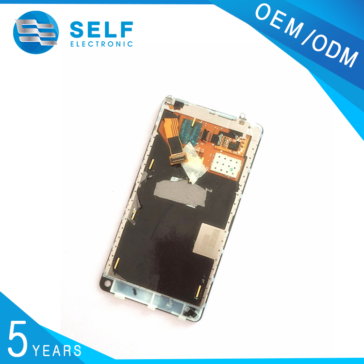 Hot sale lcd screen display for Nokia N9 with frame , for Nokia N9 touch screen