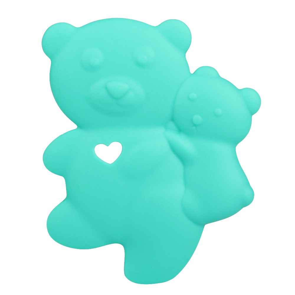 free sample Small Fast Selling Items Custom Animal Mold Silicone Baby Teether