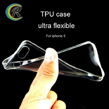 Slim ultra silicone tpu cover case for iphone 4 4s 5 5s 6s 6plus for iPhone 5 5S phone case cell
