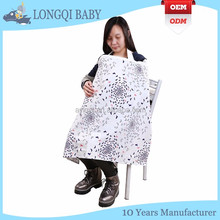 NC-TN-001 hot selling fashionable large muslin apron baby breast feeding nursing cover scarf