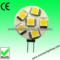 1.2W 12Vac 360degree dimmable smd led light bulb g4