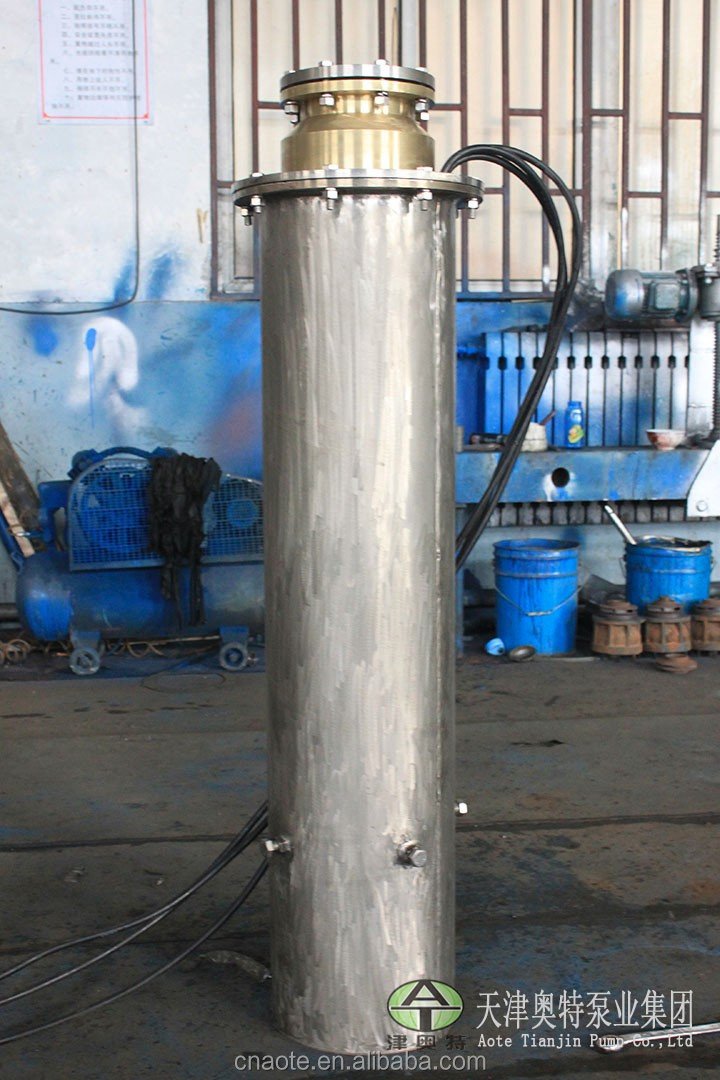 Manufacturer in north of China for Submersible water well pump