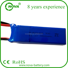 803496 hunger promotion 11.1v 3000mah 3s lipo battery 30C discharge for syma cx20 rc helicopter or quadcopter battery