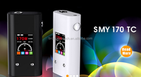 new products 2016 vape Simeiyue SMY170 TC MOD 18650 battery 170w temp control box mod Smy170 tc